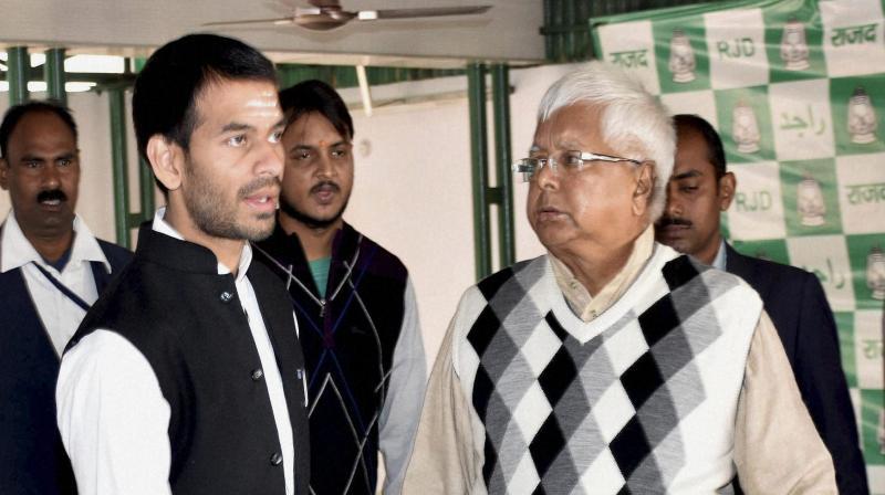 Yadav had married Aishwarya Rai, the daughter of former minister Chandrika Rai, on May 12 last in Patna. (Photo: File | PTI)