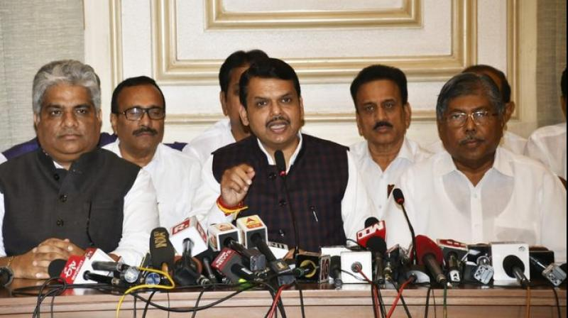 Devendra Fadnavis resigned as the chief minister of Maharashtra on Tuesday. (Photo: ANI)