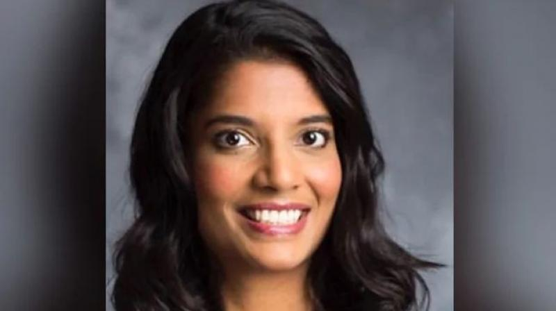 The co-founders of Outcome Health Rishi Shah, 33, and Shradha Aggarwal, 34, and former executive Ashik Desai, 26, are among six people accused of fraud 'that targeted the company's clients, lenders and investors,' the US Department of Justice said on Monday. (Photo: Twitter)