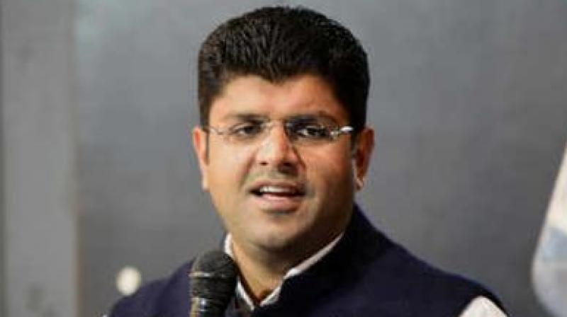 In 2018, Dushyant Chautala formed the JJP under the guidance of his father Ajay Chautala, who is serving a 10-year sentence in a corruption case. (Photo: Social Media)