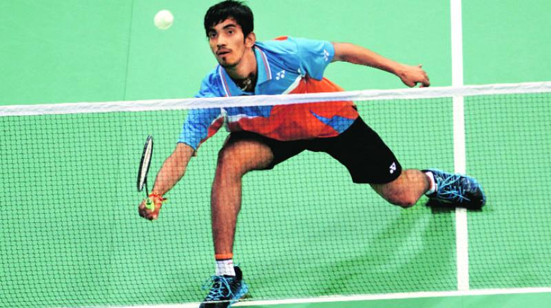Kidambi Srikanth struggle with his precision and placement of strokes and it helped Son Wan Ho. (Photo: PTI)