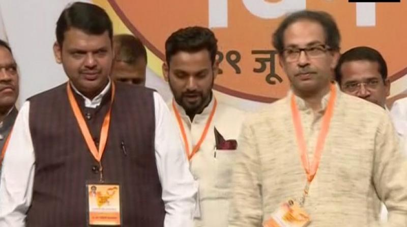 Devendra Fadnavis, Maharashtra CM, who shares a good rapport with Sena chief Uddhav Thackeray has maintained that an alliance will take place. (Photo: File  |ANI)