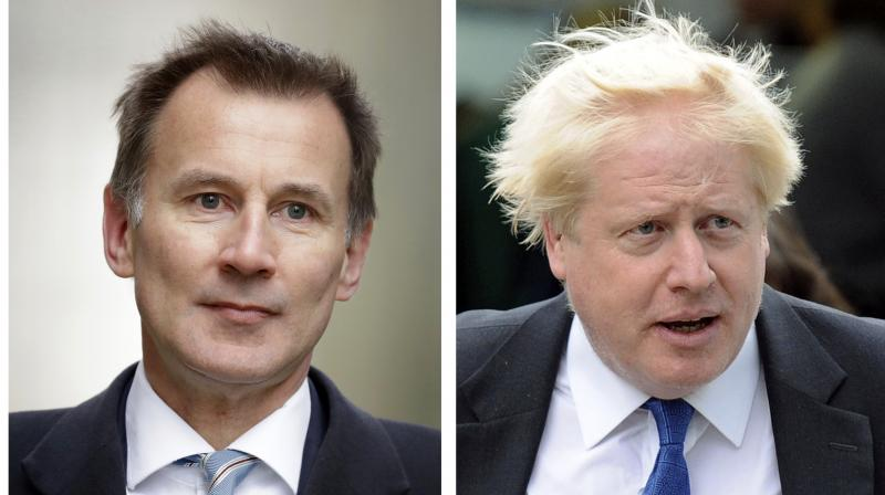 Boris Johnson will face Foreign Secretary Jeremy Hunt in a run-off to become Britain's next leader after a final ballot of MPs on Thursday, with the winner tasked with guiding the country through Brexit. (Photo: AP)