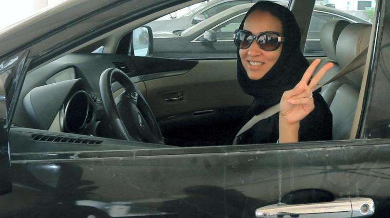 Buckling up in a pearl-silver Lexus, Sabeeha al-Fakher takes the wheel and relegates her son to the passenger seat, a role reversal the 68-year-old Saudi widow never imagined would be possible in her lifetime. (Photo: AFP)