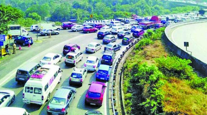 The main aim of the corridor is to decongest traffic.
