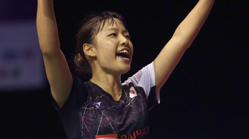 Nozomi Okuhara had to dig deep in her reserves, to notch up the win against PV Sindhu. (Photo: AP)