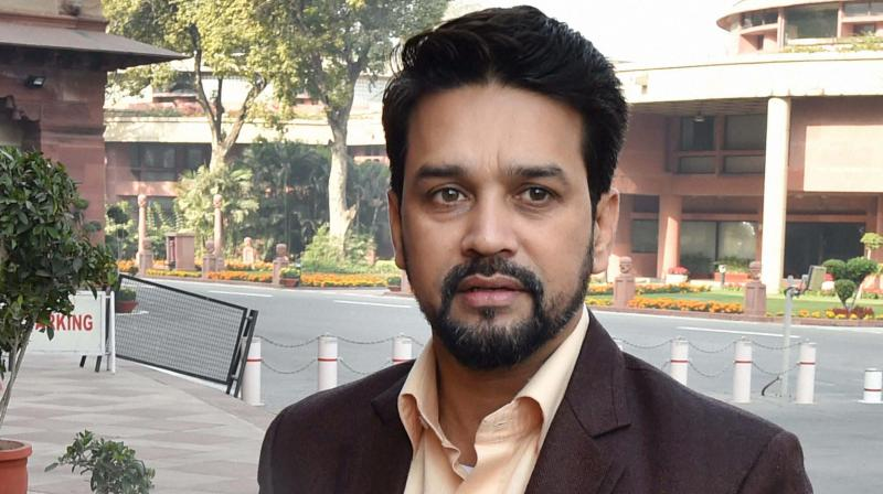 There wont be any personal interaction between the taxpayer and the tax officer. This step aims to eliminate corruption in the tax department, said Union minister Anurag Thakur. (Photo: File)