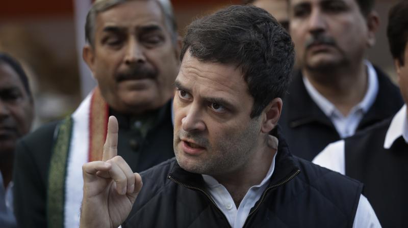 Congress Vice President Rahul Gandhi (Photo: AP)