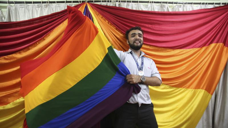 More than 900,000 of Nepal's roughly 26-million population identify as a sexual minority, according to LGBT rights group Blue Diamond Society. (Photo: AP)