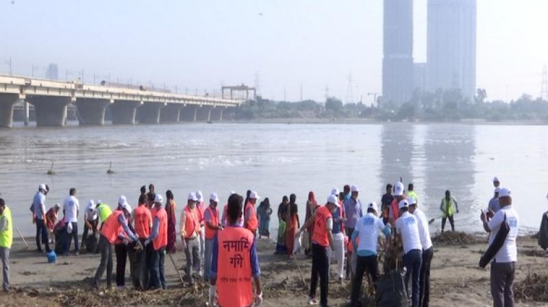 With macroscopic vision, NMCG is devoted to cleaning all the tributaries and restoring the glory of river Ganga. (Photo: ANI I Representational)