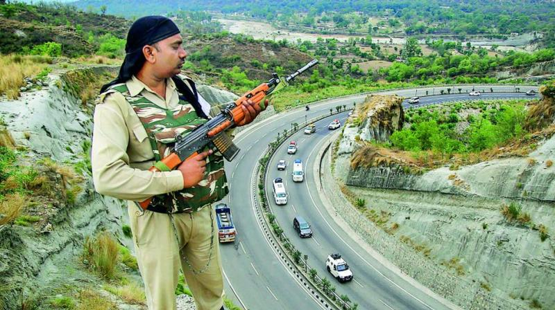 After Pulwama's horrific February 14 suicide attack on a CRPF convoy, the security apparatus had to be extra cautious. (Photo: File)
