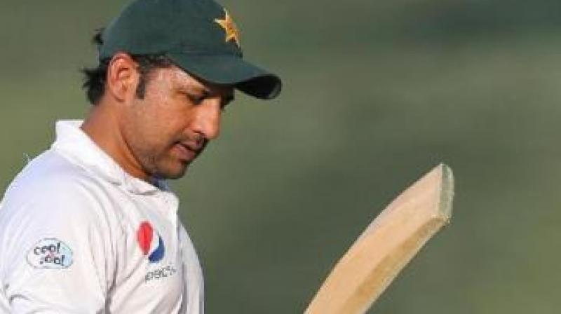 Former Pakistan bowler Shoaib Akhtar on Tuesday expressed his disappointment over Sarfaraz Ahmed's exclusion from the side's squad for the upcoming T20I and Test series against Australia. (Photo:AFP)