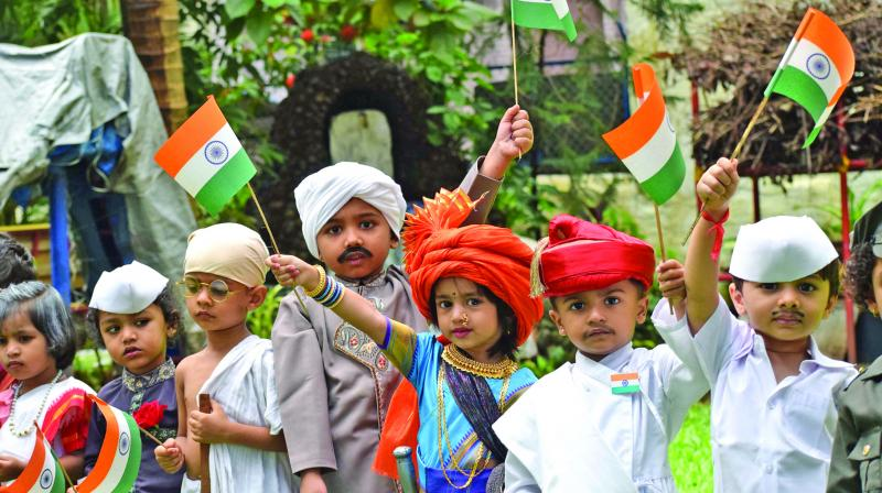 72nd Independence Day celebrations observed peacefully