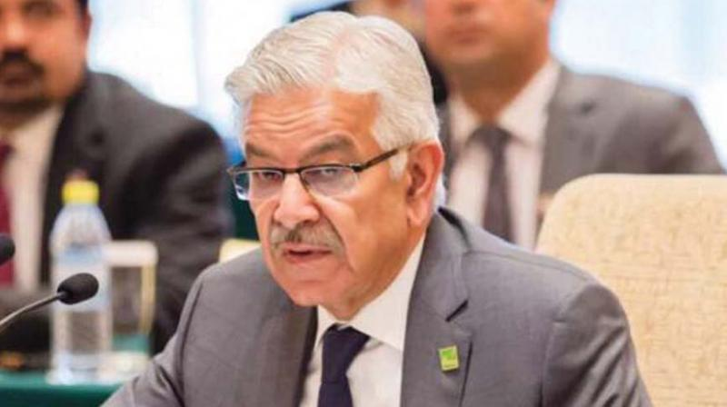 Pakistan's foreign minister Khawaja Mohammed Asif (Photo: AP)