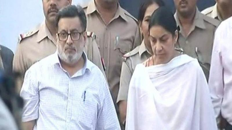 On October 12 last year, the Allahabad HC had acquitted Rajesh and Nupur Talwar couple in Aarushi murder case saying they could not be held guilty on the basis of evidence on record. (Photo: File | ANI)