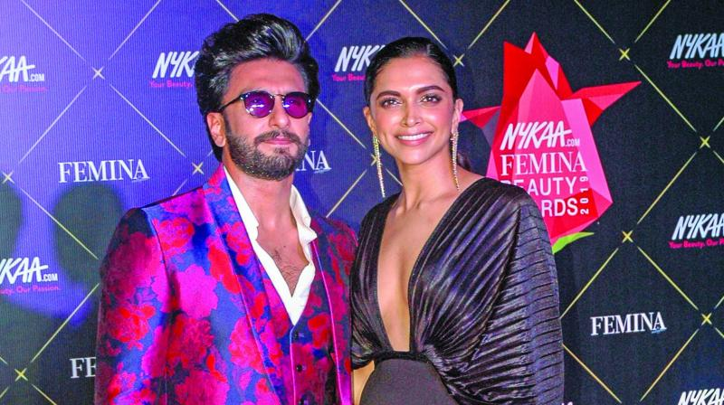 "Ranveer went on to reveal that he owes his career to Deepika because ""I probably wouldn't have been able to achieve the little that I have achieved in my career if it wasn't for her."""