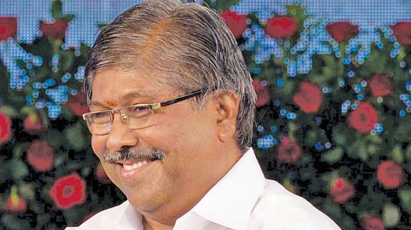 State BJP president Chandrakant Patil