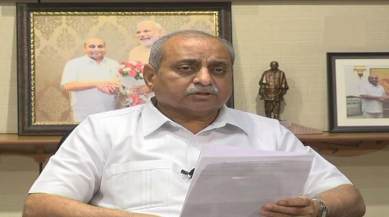 'We can think of changing the name at an appropriate time,' Gujarat Deputy Chief Minister Nitin Patel said. (Photo: Twitter | ANI)