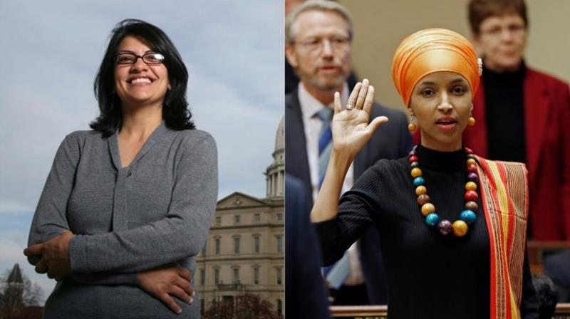 Rashida Tlaib and Ilhan Omar are first Muslim women elected to the US Congress (Photo: File   AP)