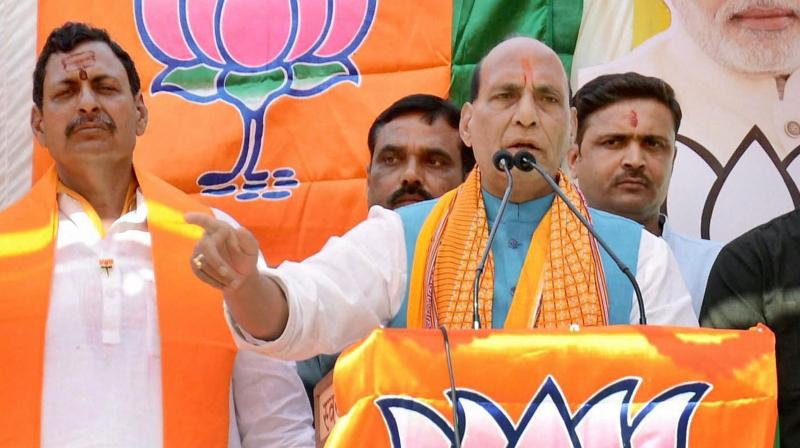 Union Home Minister and senior BJP leader Rajnath Singh (Photo: PTI)