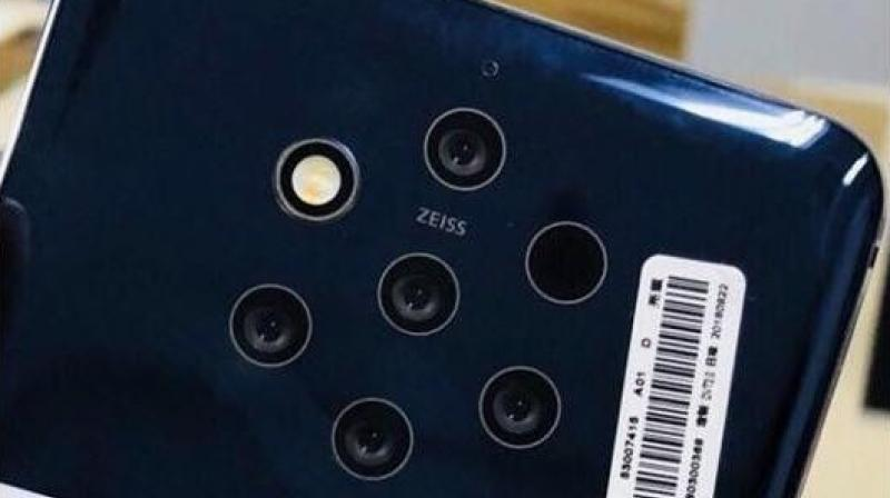 The Nokia 9 is expected to come with five rear cameras.