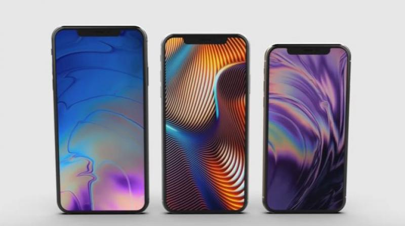 iPhone XS Max, iPhone 9 and iPhone XS.