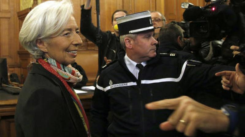 Christine Lagarde. (Photo: AP)