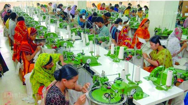 Bangladeshi garment factory workers (Photo: PTI)