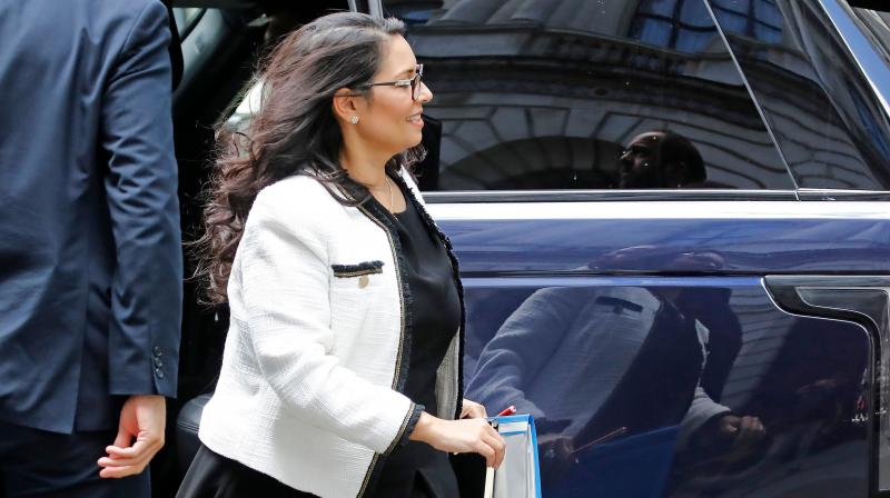 Britain's home secretary Priti Patel. (AFP file photo)