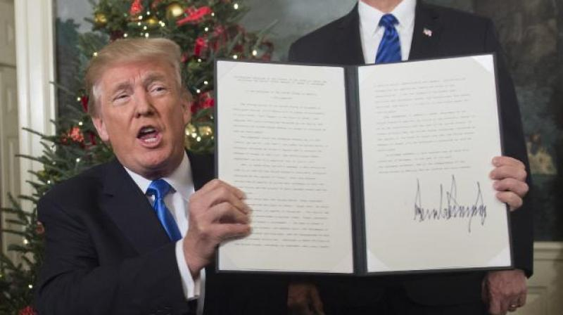 US President Donald Trump reimposed a wave of tough unilateral sanctions on Iran three weeks ago, bringing back into effect harsh penalties that had been lifted under a landmark 2015 agreement. (Photo: File)