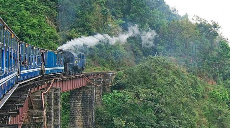 The train left Mettupalayam at 9:10 am and reached Ooty by 2:40 pm. (Representational Image | Facebook Screengrab)