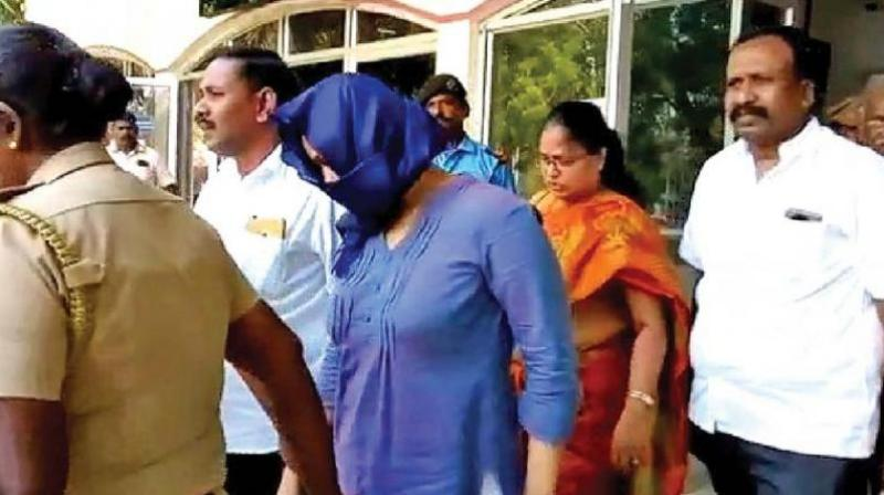 Lois Sofia was arrested after the plane landed in Tuticorin and Tamilisai filed a complaint with the airport police. (Photo: File)