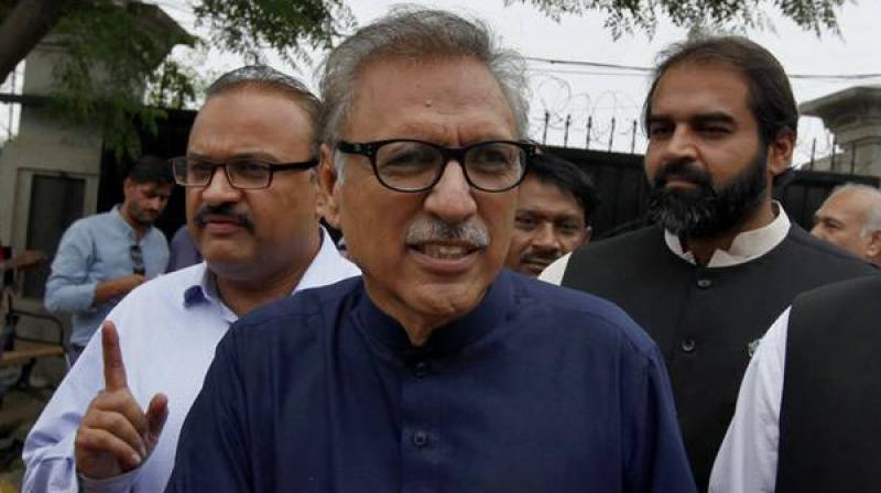 In Pakistan, the President is considered as a symbol of the federation and head of the state and exercises all powers on the recommendations of the prime minister. (Photo: AP)
