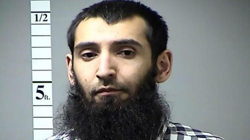 Saipov, a 30-year-old Uzbek national, was arrested in October immediately after police said he ploughed a truck down a bike lane on Manhattan's West Side. ISIS claimed responsibility for the attack. (Photo: AFP)