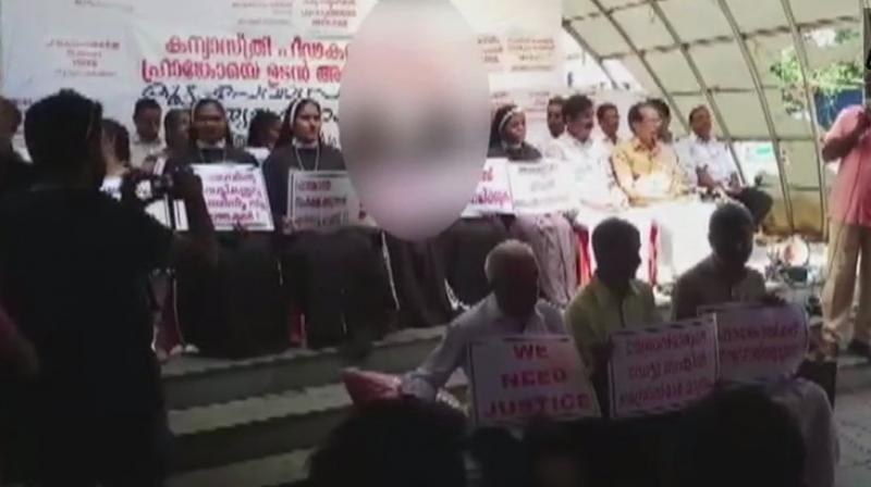 Joining the dharna organised by various Catholic organisations seeking reformation in the church, the nuns alleged that the victim had been denied justice by the Catholic Church, police and the government. (Representational | PTI)