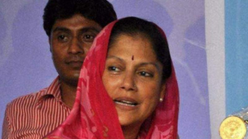 Scindia said that she wasn't raising the matter because the late 'Rajmata' was her mother but because she has personally seen her sacrifices for the party. (Photo: PTI)