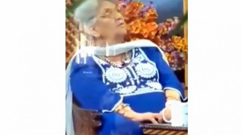 Rita Jetinder was the secretary of Jammu and Kashmir Academy of Art, Culture and Languages. (Photo: YouTube | Screengrab)
