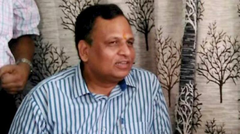CBI has registered the case after carrying out searches at Delhi PWD minister Satyendar Jain's residence today morning. (Photo: File)