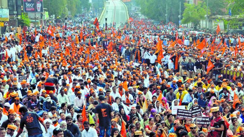 Marathas are now seeking a quota, much like Andhra Pradesh's Kappus, Haryana's Jats and Gujarat's Patidars did. (Photo: PTI/Representational)
