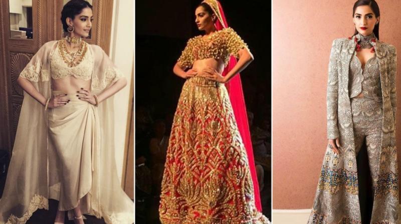 Sonam Kapoor in some good-looking dresses. (Photo: Instagram)