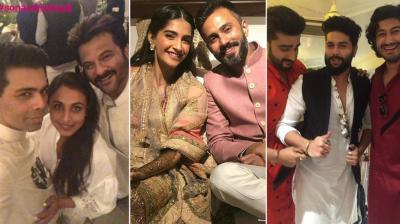 Inside pictures from Sonam Kapoor and Anand Ahuja's Mehendi. (Photo: Instagram)