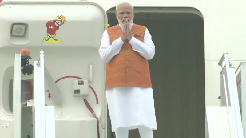 Prime Minister Narendra Modi, who left for Bangkok on Saturday, said India will consider whether its concerns and interests in trade in goods, services, and investments are being fully accommodated when he attends the meeting of the RCEP there. (Photo: Twitter/ ANI)