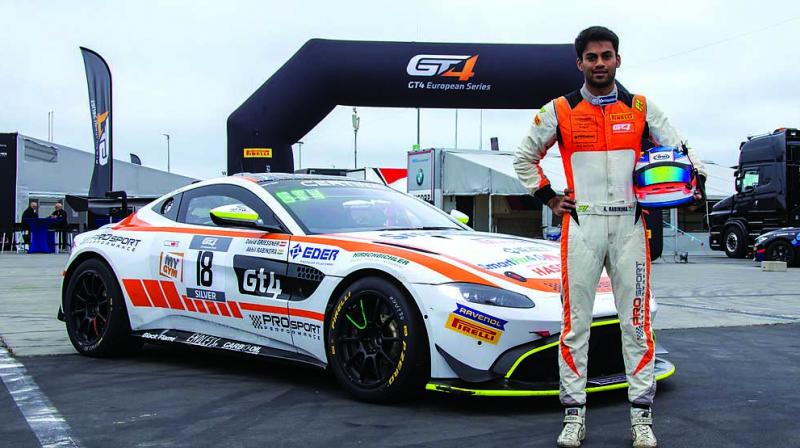 Akhil Rabindra became the only Asian driver to be selected to join the Aston Martin Raching Young Driver Racing Academy earlier this year.