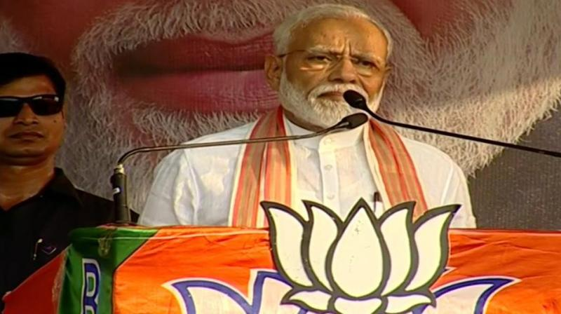Ascertaining the victory of BJP in 2019 Lok Sabha Elections, Modi said citizens of West Bengal were more confident of their votes now. (Photo: ANI)