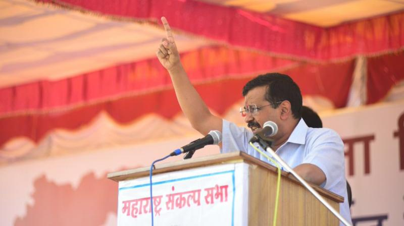 5 yrs ago people had ousted Cong from power because of its indulgence in corruption with a hope that BJP govt would usher in change, Kejriwal said. (Photo: File)