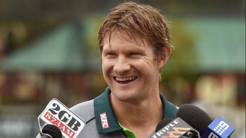 Former Australian all-rounder Shane Watson has been appointed as the President of Australian Cricketers Association (ACA). (Photo:AFP)