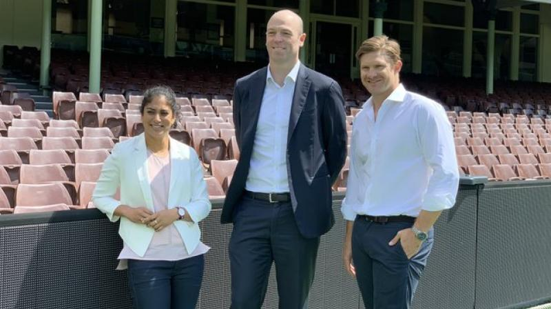 After being appointed as the President of Australian Cricketers Association (ACA), former Australia all-rounder Shane Watson said that he is honoured to be elected at the post and it would give him an opportunity to continue to give back to the game. (Photo:Twitter)
