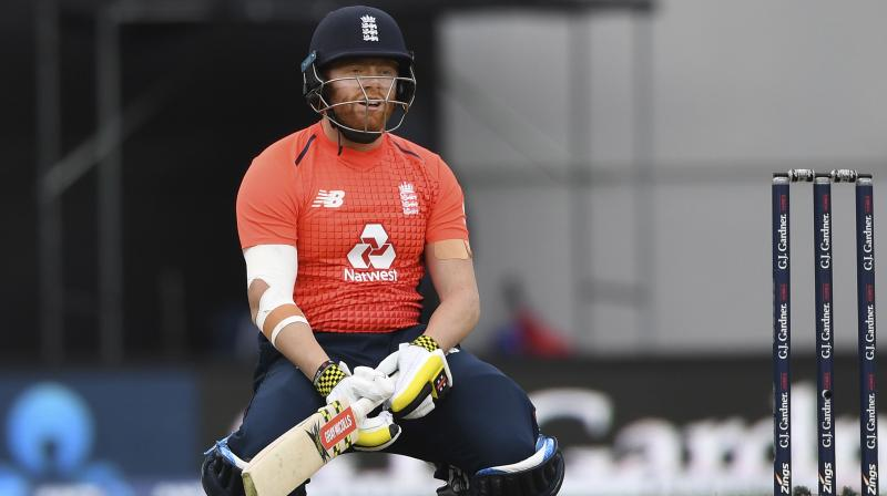 England's Jonny Bairstow was reprimanded and received one demerit point after being found guilty of a Level 1 breach of the ICC Code of Conduct for Players and Player Support Personnel on Monday. (Photo:AP)