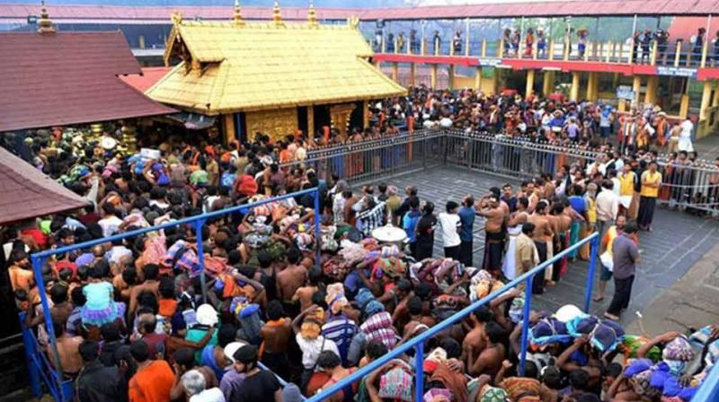 At present, female devotees between the age group of 10 to 50 are not allowed entry to Sabarimala Ayyappa Temple. (Photo: File)