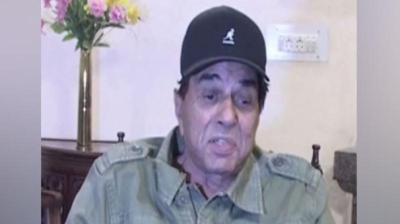 BJP leader Dharmendra said he would not have allowed his son Sunny Deol to contest the Lok Sabha elections from Gurudaspur. (Photo: ANI)